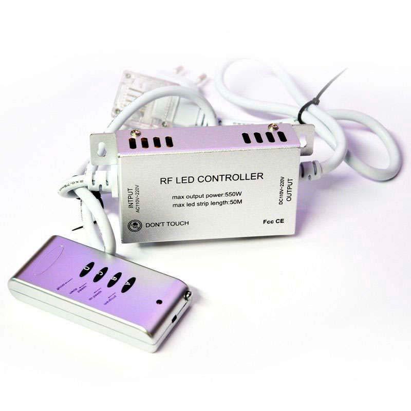 Controlador RF NEON Flex 220V RGB 550W